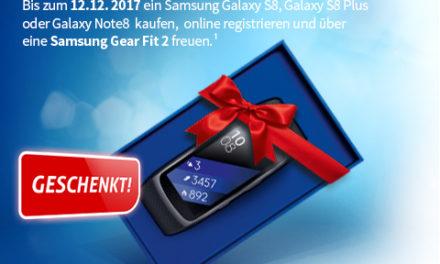 Samsung S8 + Otelo Internet 6GB + SMS Flat Allnet + Samsung Gear Fit + Handyversicherung ! +25€ Rufnummernmitnahme ! -TOP TOP