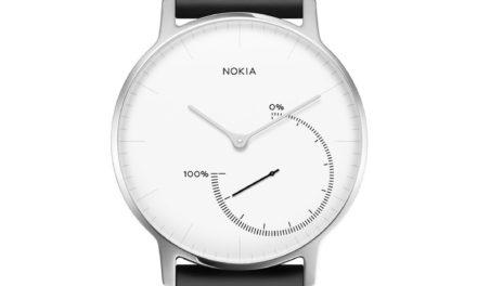 Nokia Steel – Fitnessuhr Armbanduhr 79€