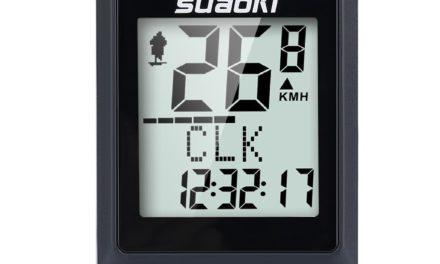 Beendet 1,99€ Sport Drahtloser Fahrradcomputer Stoppuhr Radcomputer von Suaoki