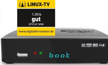 84,99€ Spycat Mini Linux E2 Kabel HDTV Receiver DVB-C/T2 Tuner USB Wifi Bluetooth