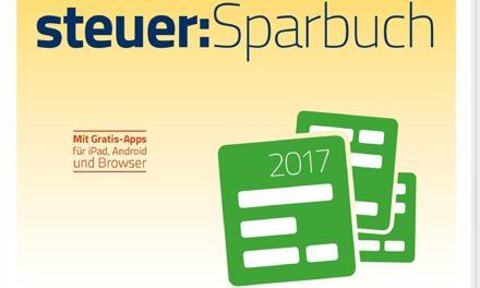 19,99€ WISO steuer:Sparbuch 2018 (für Steuerjahr 2017) (CD-Version) Windows & MAC