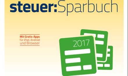 17,99€ WISO steuer:Sparbuch 2018 (für Steuerjahr 2017) [Online Code]
