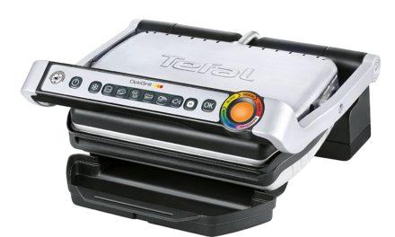 84,99€ Tefal GC702D Optigrill (2000 W, Standard-Modell, automatische Anzeige des Garzustandes, 6 voreingestellte Grillprogramme) schwarz/silber