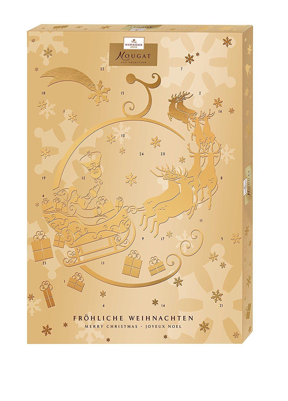 9,99€ Niederegger Adventskalender Nougat, 1er Pack (1 x 500 g)