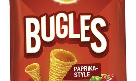 Beendet – 3,75€ Lays Bugles Paprika Mais -Snack, 6er Pack (6 x 100 g)