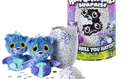 33€ Spin Master 6037096 – Hatchimals Surprise – Peacats