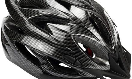Beendet – 5,99€ Zacro Fahrradhelm Leichtgewicht Schutzhelm Erwachsene Fahrradhelm mit Abnehmbarem Visier und Liner in mittlerer Größe (54-62cm)