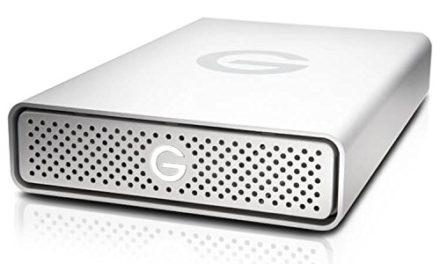 Beendet – 282,99€ G-TECH G-DRIVE USB-C USB3.1 10TB 8,9cm 3,5Zoll Retail GDREUCEB100001ADB