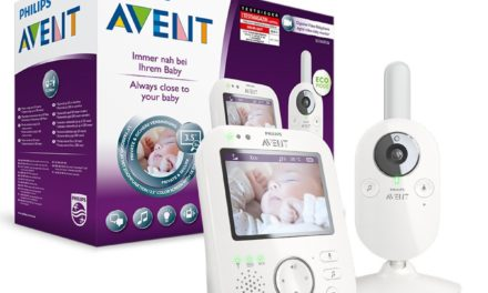 Beendet – 126,49€ Philips Avent SCD630/26 Video-Babyphone, 3,5 Zoll Farbdisplay