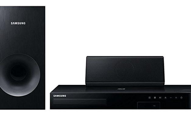 Beendet – 149€ Samsung HT-J4500 5.1 3D Blu-ray Heimkinosystem (500W, Bluetooth, FM Tuner) schwarz