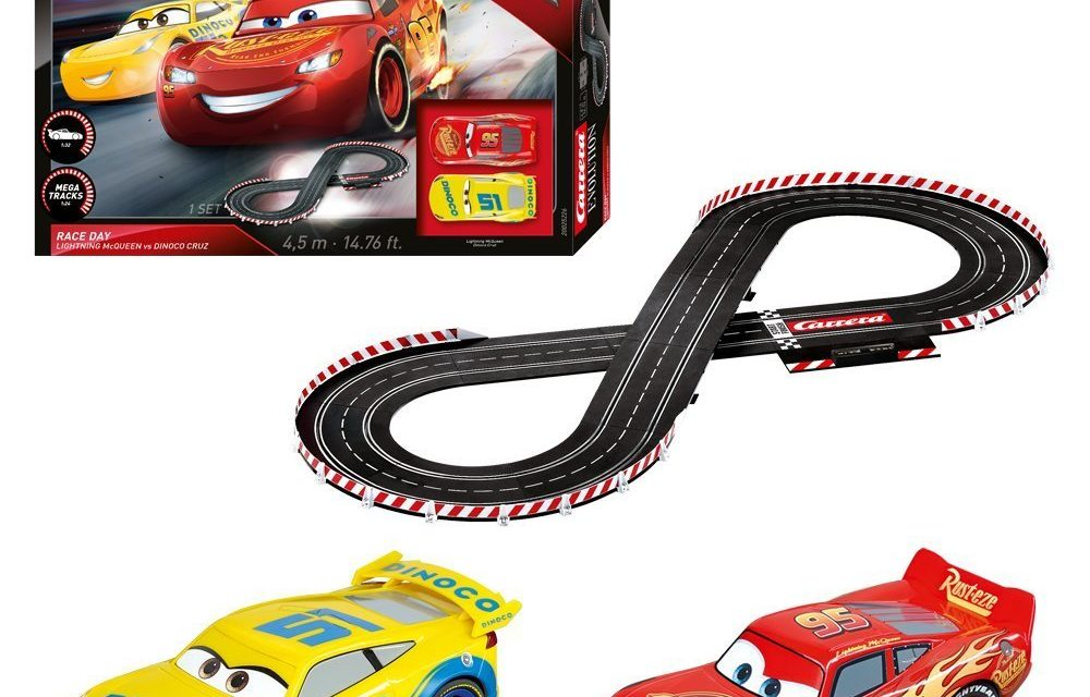 Beendet – 58€ Carrera 20025226 – Evolution Disney/Pixar Cars 3 – Race Day