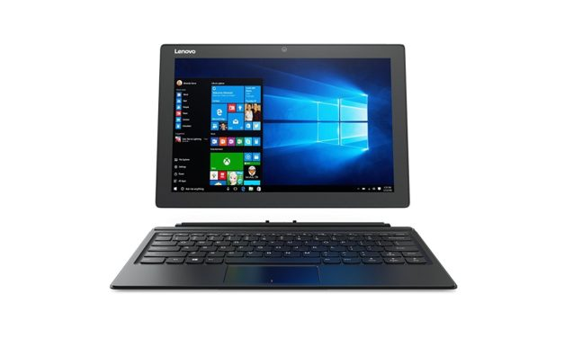 744€ Lenovo Miix 510 30,5 cm (12,2 Zoll Full HD IPS Touch) Convertible Tablet-PC (Intel Core i5-7200U, 4GB RAM, 128GB SSD, Windows 10 Home) silber