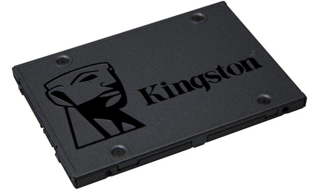 34,90€ Kingston SSD A400 120GB Solid-State-Drive (2.5 Zoll , SATA 3)