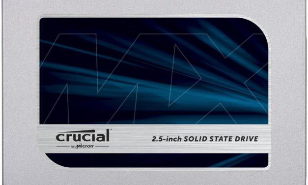 475€ Crucial MX500 CT2000MX500SSD1(Z) 2TB 3D NAND SATA Internes SSD (2,5 Zoll)