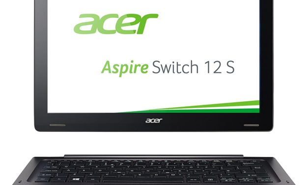 Beendet – 626,46€ Acer Aspire Switch 12 S (SW7-272) 31,7 cm (12,5 Zoll Full HD IPS) Convertible Notebook (Intel Core m5-6Y54, 8GB RAM, 256GB SSD, Intel HD Graphics 515, Win 10 Home) schwarz