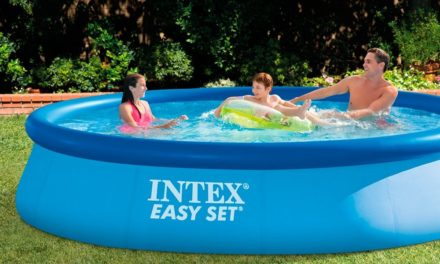 Beendet – 23,68€ Intex Easy Set Swimming Pool no pump 396cm x 84cm x 74cm