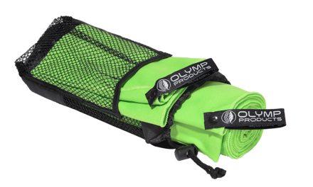 Beendet – 6,90€ 2er-Pack Schnelltrocknende Mikrofaser-Handtücher von Olympproducts für Sport, Fitness, Camping, Reisen, Outdoor, Yoga – 2 Stück mit Tasche