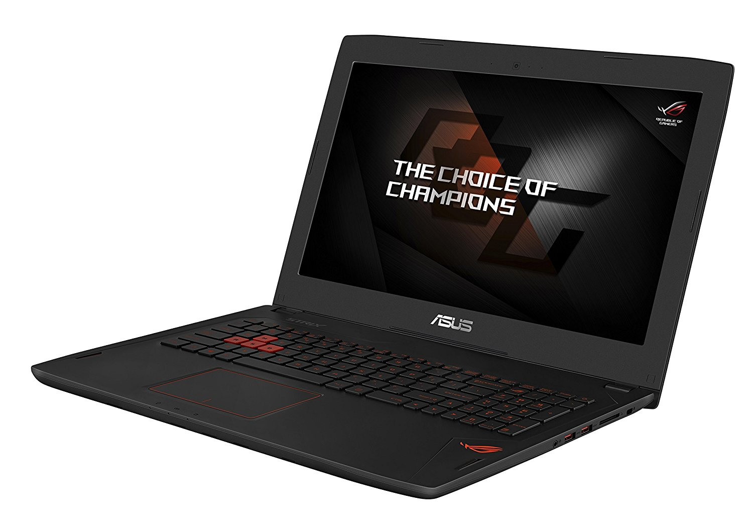 Beendet – 1.199€  Asus ROG GL502VS-FY043T 39,6 cm (15,6 Zoll mattes FHD, IPS G-Sync) Gaming Notebook (Intel Core i7-6700HQ, 8GB RAM, 512GB SSD, 1TB HDD, GeForce GTX 1070, Win 10) schwarz