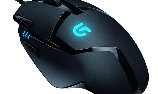 36,99€ Logitech G402 Gaming-Maus Hyperion Fury (mit 8 programmierbaren Tasten) schwarz