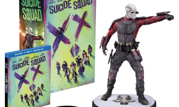 Beendet – 49,97€ Suicide Squad inkl. Digibook & Deadshot Figur inkl. Blu-ray Extended Cut [3D Blu-ray] [Limited Edition]