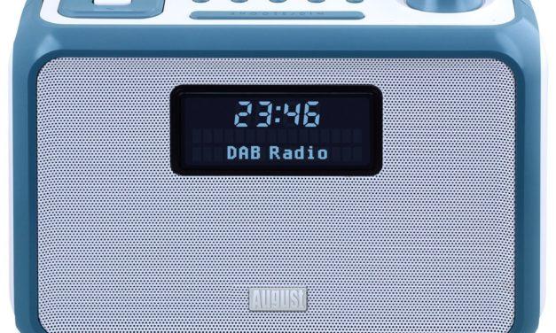 27,48€ August MB400 – DAB Radio und Bluetooth NFC Lautsprecher (blau)