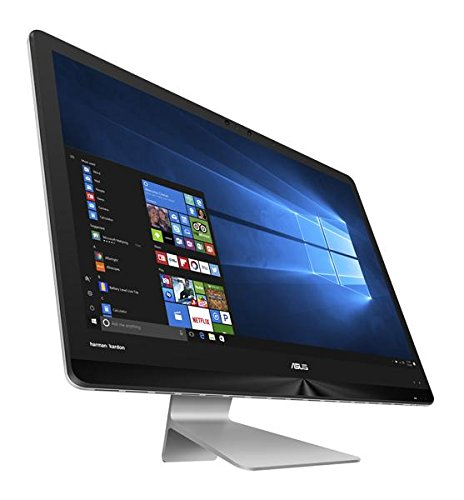 1.499€ Asus ZN270IEGT-RA078T 68,5 cm (27 Zoll) All-in-One Desktop PC (Intel Core i7-7700T, 1TB HDD/512GB SSD, 16GB RAM, NVIDIA GeForce 940MX, Win 10 Home) grau
