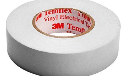 0,75€ 3M Temflex 1500 Vinyl Elektro-Isolierband, 15 mm x 10 m, 0,15 mm, Weiß