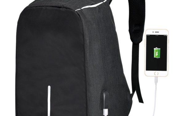 21,32€ Vbiger Rucksack Laptop Rucksack Daypack Tagesrucksack mit Ladeanschluss, Größe One Size, Farbe Schwarz