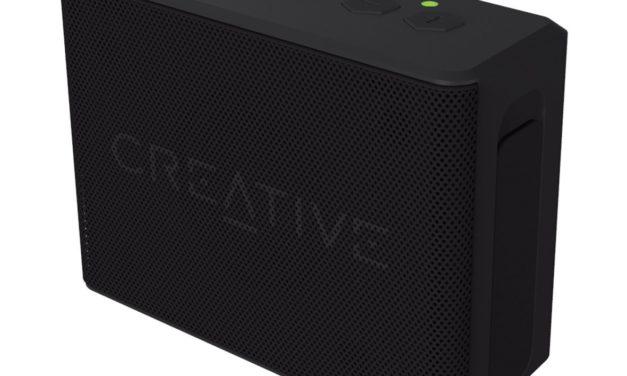 23,05€ Creative MUVO 2c Leistungsstarker (Kompakter Wetterfester Wireless Bluetooth Lautsprecher für Apple iOS/Android Smartphone, Tablet/MP3) schwarz