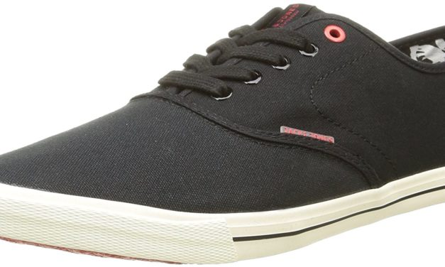 11,95€ JACK & JONES Herren Jjspider Canvas Sneaker Anthracite