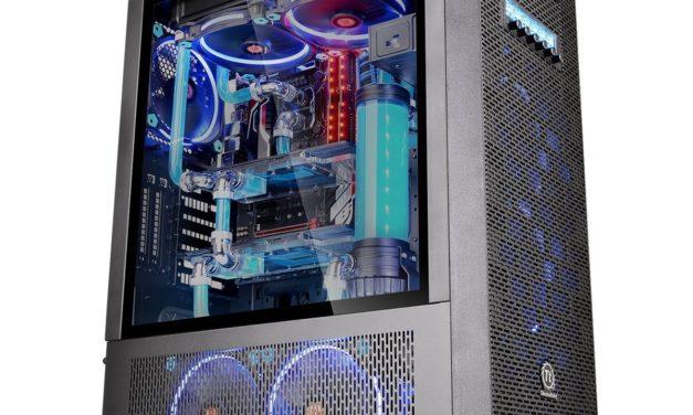 Beendet – 127,96€ Thermaltake Core X71 TG (Tempered Glass) PC-Gehäuse schwarz