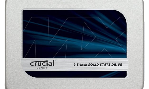 288,69€ Interne SSD 2.5″ Crucial MX300 – 2 TB (Amazon.co.uk)