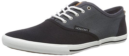 8,51€ JACK & JONES Jjspider Canvas Blocking Asphalt Herren Sneakers