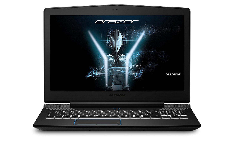 Beendet – 899€ Medion Erazer X6603 MD 60613 39,6 cm (15,6 Zoll mattes Full HD Display) Gaming Notebook (Intel Core i5-7300HQ, 16GB DDR4 RAM, 1TB HDD, 256GB M.2 PCIe SSD, Nvidia GeForce GTX 1050 Ti 4GB GDDR5, Win 10 Home) schwarz