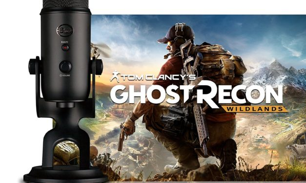 89,99€ Blue Blackout Yeti + Tom Clancy's Ghost Recon Wildlands PC: Streamer Bundle