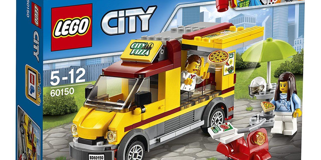 9,99€ LEGO City 60150 – Pizzawagen, Bauspielzeug
