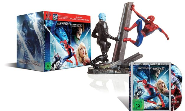 24,99€ The Amazing Spider-Man 2: Rise of Electro (Figur Spidey vs. Electro +Blu-ray und Bonus-Blu-ray)