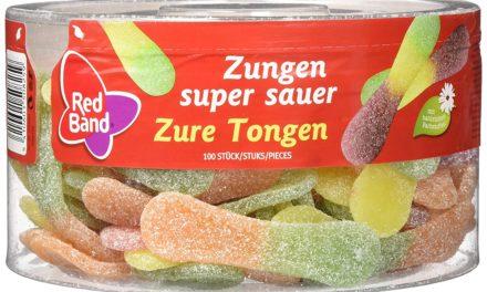 Beendet – 13,79€ Red Band Zun gen super sauer fg 100 Stück 1.28 kg, 6er Pack (6 x 1.28 kg)