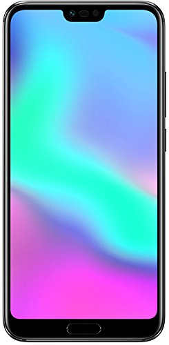 369€ Honor 10 Smartphone (14,83 cm (5,84 Zoll), Full HD+ Touch-Display, 64GB interner Speicher, 4GB RAM, 24 MP + 16 MP Dual Kamera, 24 MP Frontkamera, Dual-SIM, LTE, Android 8.1, EMUI 8.1) Schwarz – Deutsche Version