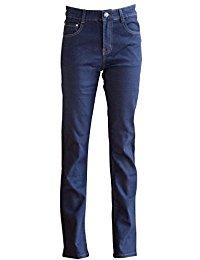 10€ Yuki Damen Bootcut Jeans Indigo Denim