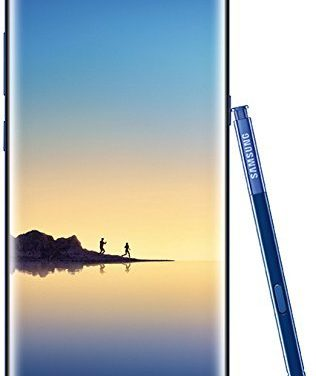 666€ Samsung Note 8 Smartphone (16.05 cm (6,3 Zoll) Dual Edge Display, 64 GB Speicher, Android 7.1) Deepsea Blue