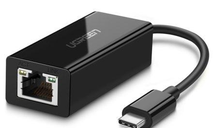 9,99€ USB Type-C Gigabit Ethernetadapter von Ugreen z.B. für Nintendo Switch, Samsung Galaxy S8 / S9, MacBook, etc.