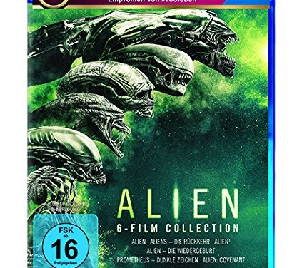 27,97€ Alien 1-6 Blu-ray Collection [Blu-ray]