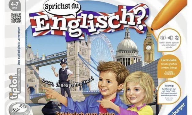 18,39€ Ravensburger tiptoi Sprichst du Englisch? – 00786 / Lerne spielerisch und interaktiv Englisch
