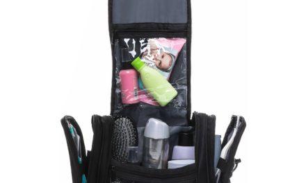 9,99€ ord.nung Kulturbeutel Kulturtasche zum Aufhängen | Premium Reisetasche Waschtasche wasserfest | Funktionale Trolleyhalterung zum einfachen Reisen