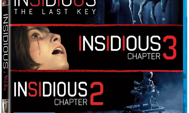 29,99€ Insidious 1-4 (exklusiv bei Amazon.de) [Blu-ray] [Limited Edition]