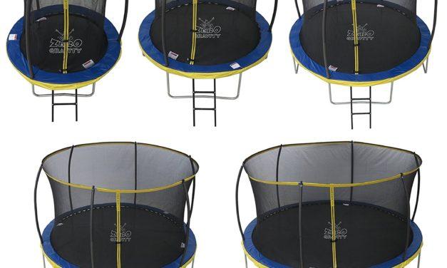 131,96€ Zero Gravity Trampolin Ultima 4 mit Sicherheitsnetz und Leiter 305cm