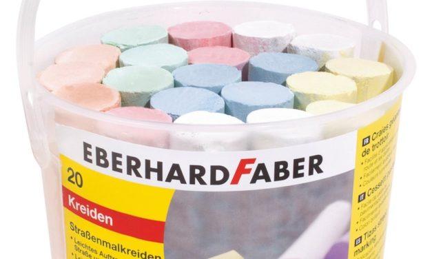 1,59€ Eberhard Faber 526512 – Straßenmalkreide 20er Eimer