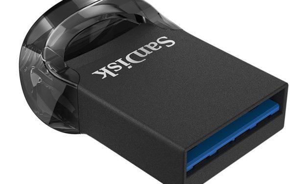 31,99€ SanDisk Ultra Fit 128 GB Flashlaufwerk USB 3.1 bis zu 130MB/Sek. Lesen