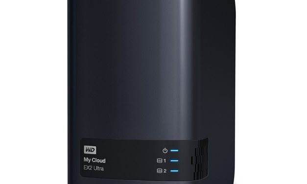 236€ WD My Cloud EX2 Ultra 4 TB – Network Attached Storage -2 Bay NAS – Streamen auf PC, Mobilgeräte, Spielkonsolen, Mediaplayer – WDBVBZ0040JCH-EESN